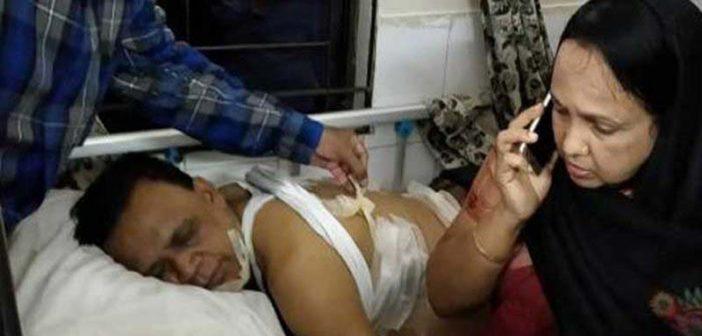 বুলেট নয়, ছররায় বিএনপি নেতা ব্যারিস্টার মাহাবুব উদ্দিন খোকন আহত